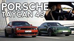 Porsche Taycan 4S - nie boi się nawet Hellcata!