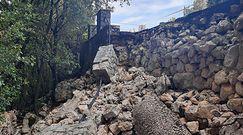 Zawalony mur na Monte Cassino. Naukowcy podjęli decyzję