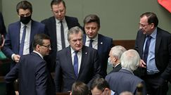 Ustawa o jawności majątków polityków? Były premier zareagował śmiechem