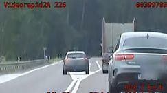 Kierowca ukarany mandatem. Nagranie podlaskiej grupy Speed