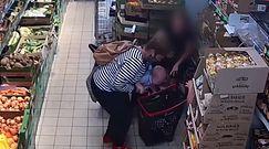 Na ratunek maluchowi w sklepie. Mazurska policja publikuje nagranie z dramatycznego momentu