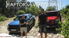 Jeep Wrangler Rubicon vs Ford Ranger Raptor – uśmiechy na godzinę