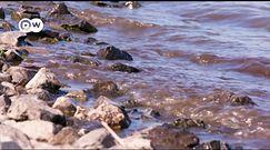 Zmniejszające się jezioro w Rosji. Mieszkańcy obwiniają radziecką rurę