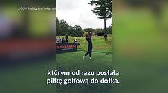 #dziejesiewsporcie: co za strzał najpiękniejszej golfistki na świecie!
