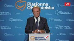 Donald Tusk odpowiada na pytanie o nepotyzm. Dziennikarz TVP Info zgaszony