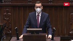Oklaski na stojąco dla Morawieckiego, Ziobro ze spuszczoną głową