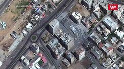 Konflikt Izrael-Palestyna. Te zdjęcia satelitarne pokazują skalę zniszczeń