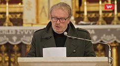 Daniel Olbrychski na pogrzebie Krzysztofa Krawczyka