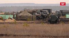 Rosjanie na granicy z Ukrainą. Zobacz nagranie