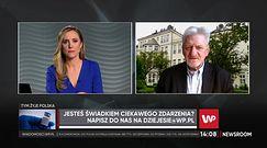 Prof. Andrzej Horban: osoby po przeszczepach powinny być szczepione jak najszybciej