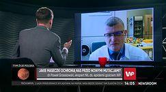 Dr Paweł Grzesiowski: brytyjskiego wariantu koronawirusa będzie w Polsce coraz więcej