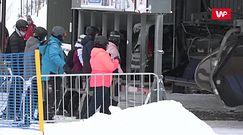Na to czekali ludzie z całej Polski. Stoki przeżywają oblężenie