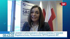 Donald Tusk szantażuje Jarosława Gowina? Magdalena Sroka i Kamil Bortniczuk komentują