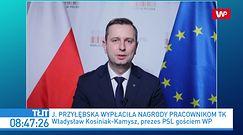 Nagrody dla pracowników TK. Władysław Kosiniak-Kamysz komentuje