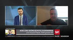 Prof. Filipiak: Pod względem testowania Polska znajduje się pomiędzy Botswaną a Azerbejdżanem