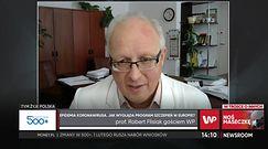 Szczepienia na koronawirusa. Prof. Robert Flisiak mówi, czym się różnią szczpionki mRNA od wektorowej
