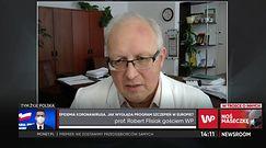 Prof. Robert Flisiak mówi o strategii szczepień seniorów preparatem AstraZeneca