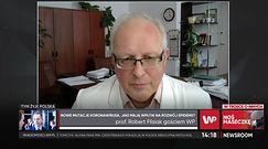 Prof. Robert Flisiak o dostawie szczepionek od AstraZeneca