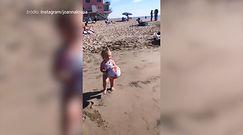Joanna Krupa spędza czas z córeczką na plaży