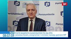 Piotr Wawrzyk zostanie RPO? Gowin: jeżeli przepadnie, rozważymy Rokitę