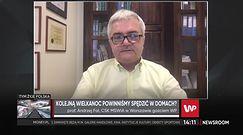 """Prof. Fal: """"średni wiek pacjenta hospitalizowanego z powodu COVID-19 w Polsce, to niecałe 60 lat"""""""