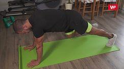 Ćwiczenia dla początkujących. Trener pokazuje, jak skutecznie robić to w domu