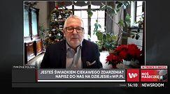 """Prof. Andrzej Matyja dostaje pogróżki od antyszczepionkowców. """"Mam cały segregator"""""""