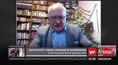 Prof. Simon o szczepionce przeciwko COVID-19 dla kobiet w ciąży i karmiących piersią