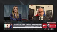 Rząd zaangażuje sportowców do promowania szczepień. Wśród nich będzie Robert Kubica