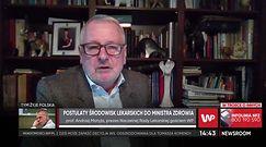 Czy lekarze będą strajkować? Prof. Andrzej Matyja mówi o postulatach medyków (WIDEO)