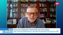 Przełomowy sondaż. Andrzej Zybertowicz komentuje