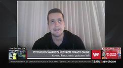 Konrad Pierzchalski, ratownik medyczny o problemach psychologicznych polskich medyków
