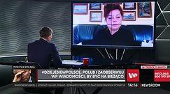Prof. Szuster-Ciesielska: wykonujemy za mało testów (WIDEO)