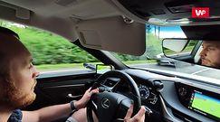 Lexus ES 300h: jak sprawdzają się kamery zamiast lusterek?