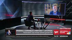 Czy cmentarze powinny być zamknięte 1 listopada? Marek Balicki apeluje do Polaków