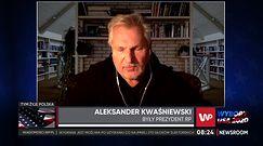Wybory w USA. Aleksander Kwaśniewski o nowych relacjach Polska-USA. Zadrwił z PiS-u