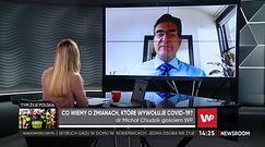 Dr Michał Chudzik wyjaśnia, jakie powikłania występują po przebyciu COVID-19