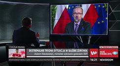 Szpitale polowe w Polsce. Minister zdrowia: powstaje plan dla każdego województwa