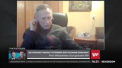 Prof. Gut tłumaczy, jakie są zasady bezpieczeństwa, by chronić się przed koronawirusem (WIDEO