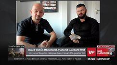 """Marcin Najman nie dostanie wynagrodzenia od FAME MMA. """"Nie wywiązał się z umowy"""""""
