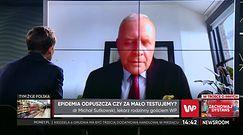 Koronawirus. Dr Michał Sutkowski o trzeciej fali COVID-19 w Polsce