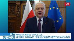 Koronawirus w Polsce. Joanna Lichocka apeluje do prezydenta Niemiec. Waldemar Kraska komentuje