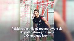 #dziejesiewsporcie: Robert Lewandowski szlifuje kolejny element gry przed półfinałem Ligi Mistrzów