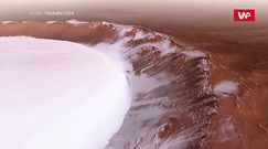 Oszałamiające wideo z Marsa. ESA pokazała niezwykły krater