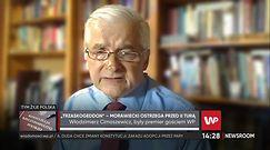 """Wybory prezydenckie 2020. Włodzimierz Cimoszewicz ostro o Mateuszu Morawieckim. """"To notoryczny łgarz"""""""