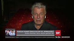 Emilian Kamiński o powrocie teatrów do pracy. Wciąż nie brakuje problemów
