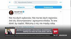 Wyniki wyborów prezydenckich. Antoni Dudek o wpisie Donalda Tuska
