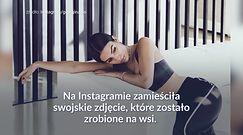 #dziejesiewsporcie: Georgina Rodriguez na snopie siana