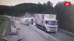 Wypadek w Rosji. Wideo pokazuje sekundy przed uderzeniem