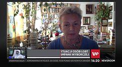 LGBT. Prof. Monika Płatek: mówienie o ideologii jest zasłanianiem prawdziwej intencji szczucia i poniżenia
